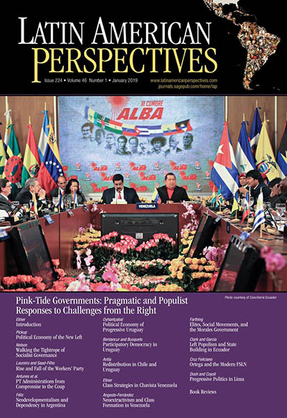 Latin American Perspectives – Issue #221 July 1 2018 Volume 45-4